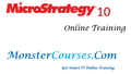Microstrategy 10 Online Training at MonsterCourses