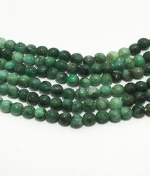 Wholesale Emerald Shaded Plain Round 6mm to 9mm Semi Precious Beads Derewala International Jewellers