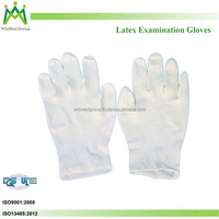 Top selling latex gloves powder free made in malaysia