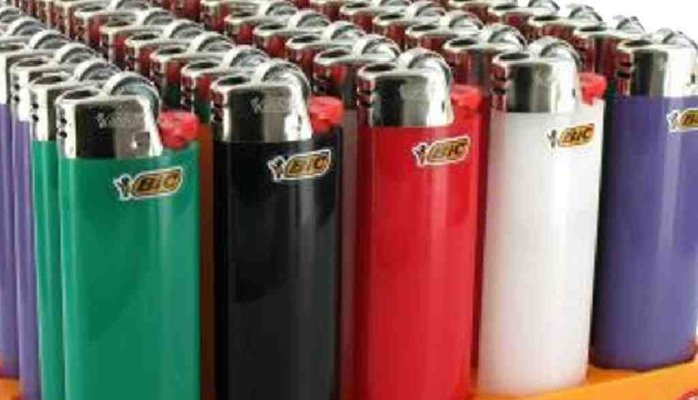 Full Size BIC Cigarette Lighters, Original Taiyo Brand Disposable Lighter