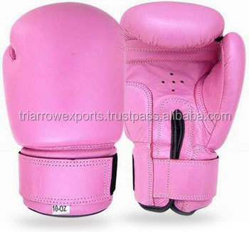 Product Name: Boxing Gloves Competition Glove Pink artificial leather. Padding with machine mould shock absorbing foam. Fitting
