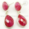 Indian 925 Sterling Silver Jewelry Earring