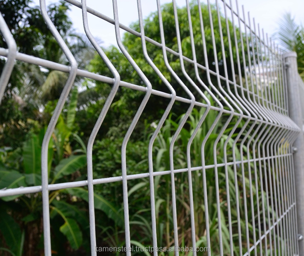 Steel Welded Wire Mesh Fence