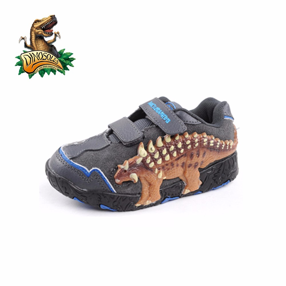 Dinosoles 3D Ankylosaurus Dinosaur Shoes (Children/Todder/Little Kids)