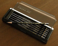 Top quality artist pencil , from 9H to 6B , 17 hardness MONO100 TOMBOW , made in Japan