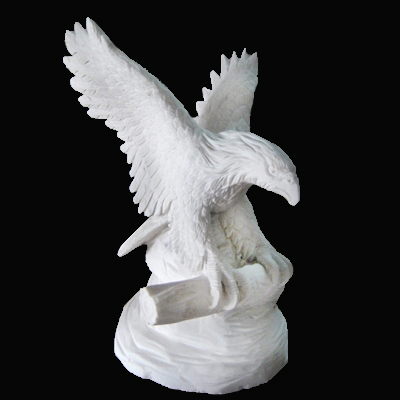 Vietnam Animal Eagle Statue Stone Carving For Garden Decorative