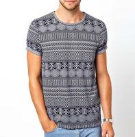 Custom sublimation t shirts - allover sublimated t shirts - 2016 fashion plain 100% cotton men's t-shirt clothing