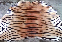 Animal Print Full Cowhide Real Hair-On Leather