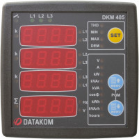 DATAKOM DKM-405 75/150V Network Analyser Panel (3 Phase)