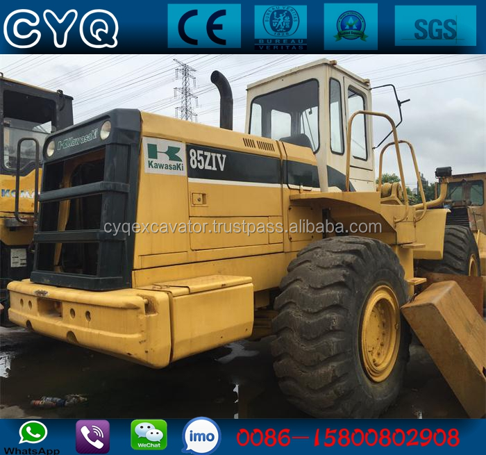 USED wheel loader Japan Original Used Kawasaki 85z Wheel Loader for Sale (whatsapp: 0086-15800802908)