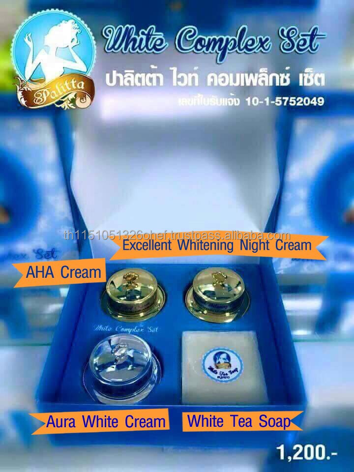 Palitta Aura Exellent AHA White Tea baby skin whitening face cream for men