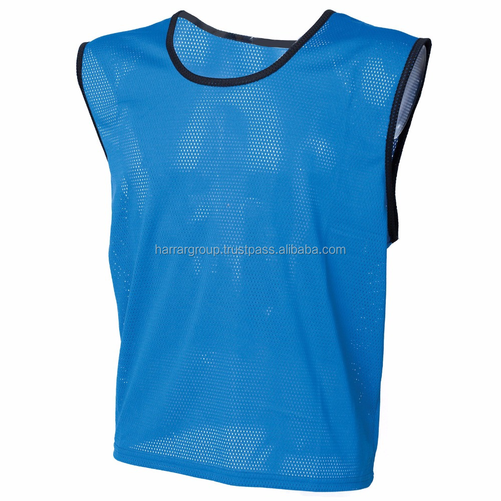 custom made high quality soccer bibs,team training sleeveless vest