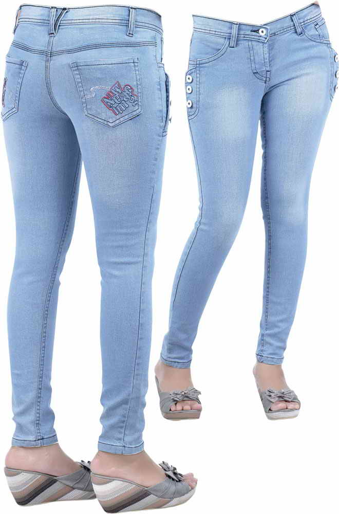 Latest fashion new design stretchable jeans.