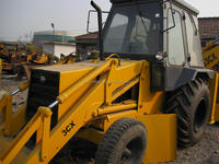 High Efficiency Best Price Used Backhoe Loader JCB3CX /JCB 4CX