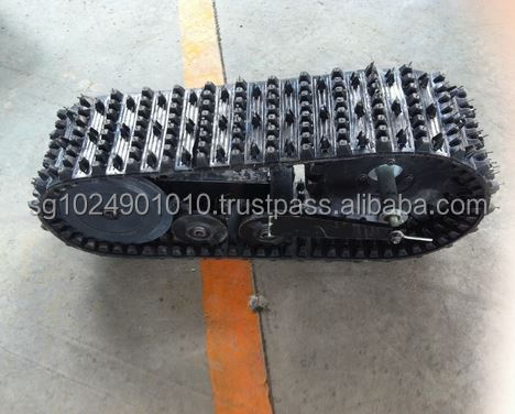 rubber crawler/rubber track for off-road vehicle