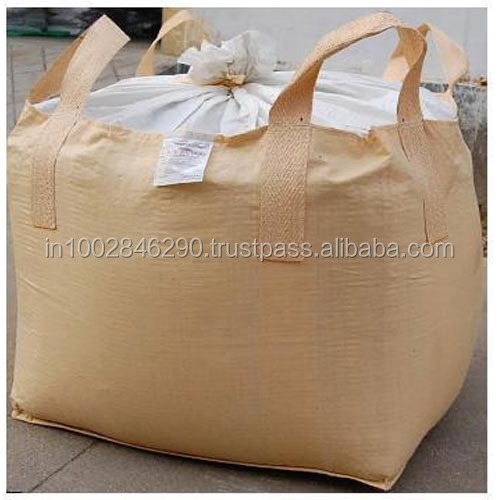 Jute jumbo bags for bulk packaging