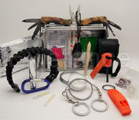 extreme outdoor emergency survival kit camping scouts military bushcraft