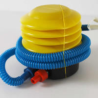 120x90mm yellow yellow Plastic Pedal-powered Inflator Pump