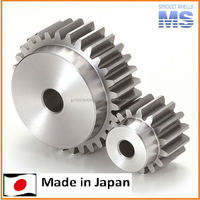 High quality stock spur gears gear for industrial use , small lot order available