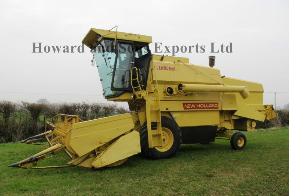 New Holland 8040 Combine Harvester