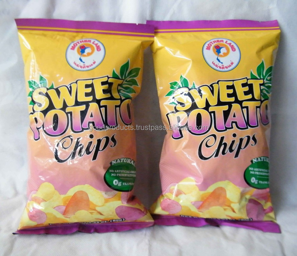 Sweet Potato with Salt Thailand Snack
