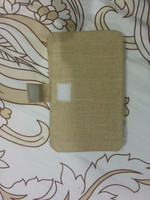 Jute tablet covers
