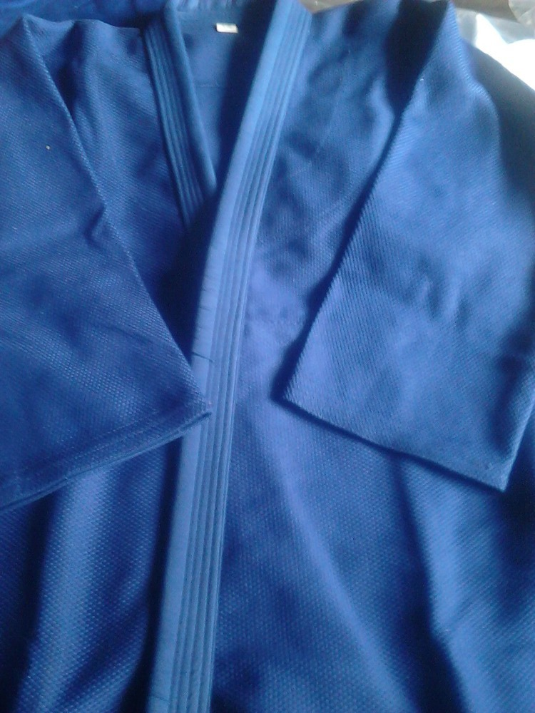 Blue judo jis/Uniform 100% cotton judo,450g ,550g, 750g vv, single v ,Double V