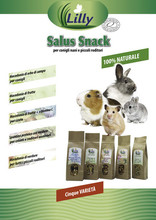 SALUS SNACKS - Rabbit, Guinea Pig, Hamster and other Rodents Snacks Pet Food