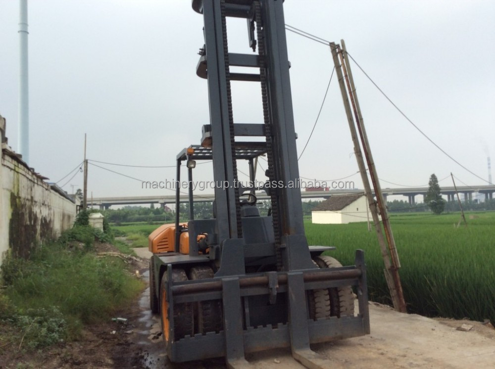 Used TCM 10 ton Forklift,FD100 TCM Forklift For Sale