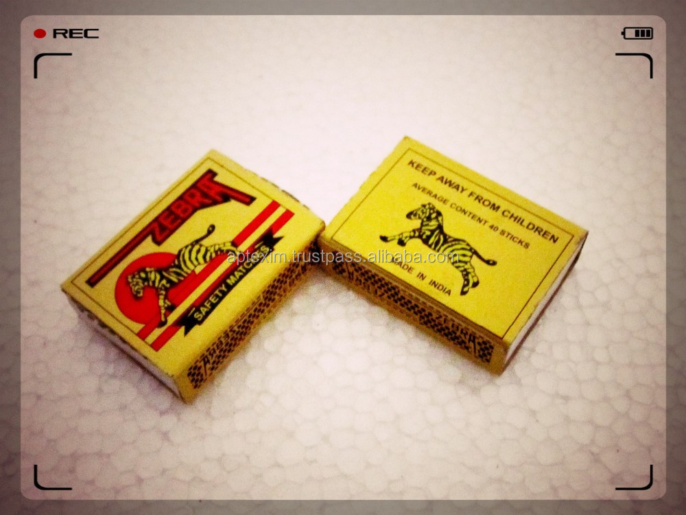 Customized Safety Wooden Matches export to Africa Market