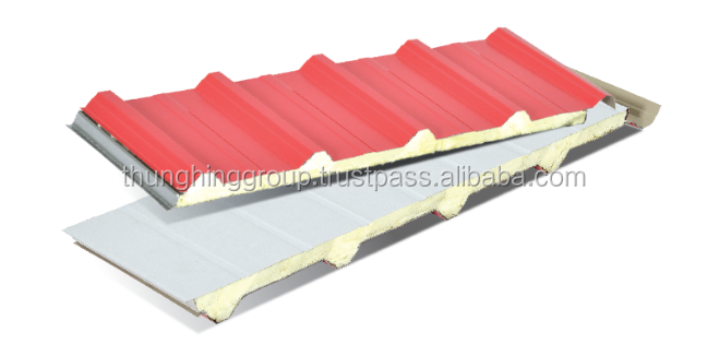 TH PU Form Metal Deck for roofing tile from Malaysia