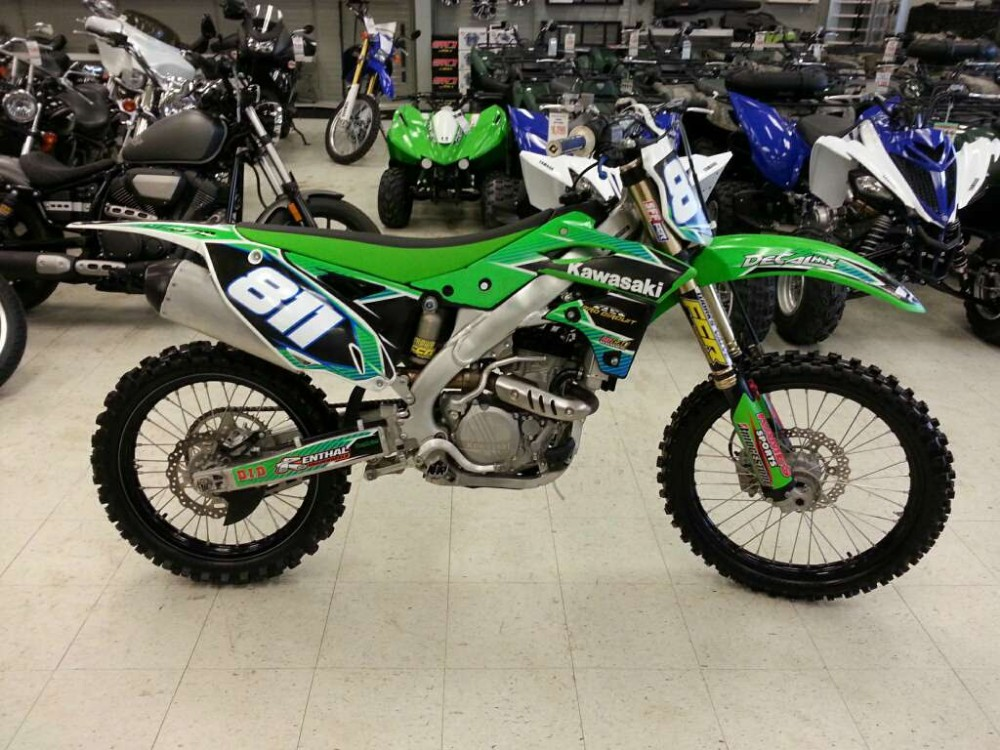 Used 2016 Kawasaki KX250F Motorcycle
