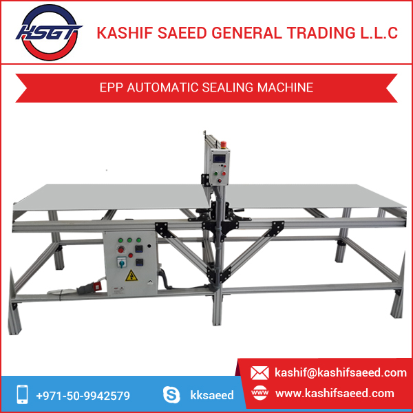 Easy Installation and CNC Control EPP Automatic Sealing Machine
