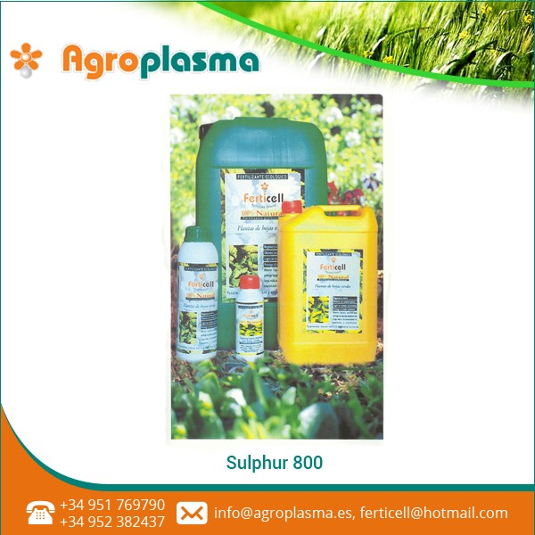Balanced Composition Sulfur-800 Liquid Fertilizer for Agriculture Use
