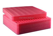 Anti Static Pink EPE foam / Shock Absorbing EPE Foam Sheet Packaging Material