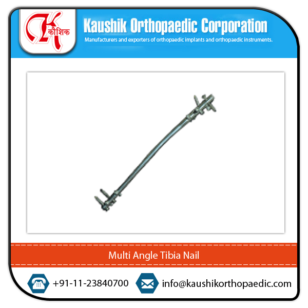 Most Demanded Multi Angle Tibia Interlocking Nail