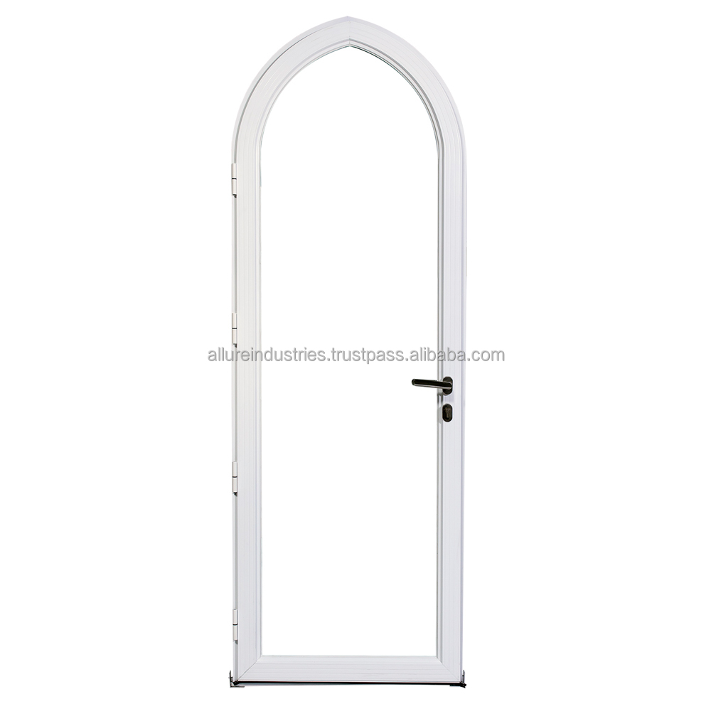 Aluminium Swing Curved Door