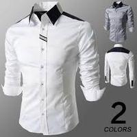 Men european style shirt italian mens dress shirt fashion shirt