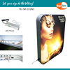 Exhibition large fabric led light box backlit