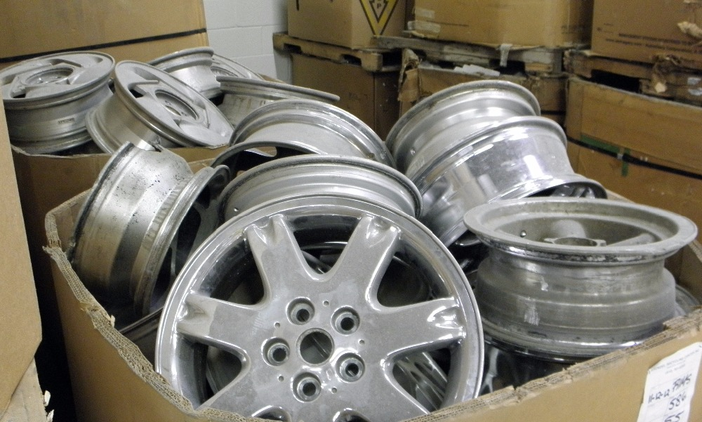 Aluminium Wheels Scrap 99.9 Purity alloy wheel scrap for sale