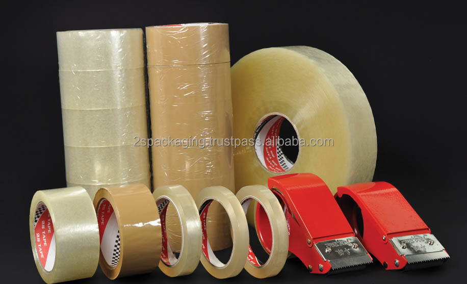 OPP Packaging Tape with One-Touch Sticky Acrylic Adhesive