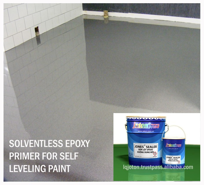 Solventless Moisture resistance Colourless Epoxy Primer JONES SEALER for Self Leveling Coating