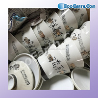 Used eco-friendly tableware wholesale , other used goods also available