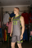 2015 promotional custom reversible basketball jerseys basketball short sleeved jersey