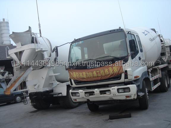 hino nissan 4m3-16m3 concrete mixer truck in shanghai china