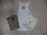 new clothes style, fashionable woman's top, in stock items, APPLE BOTTOM TANK