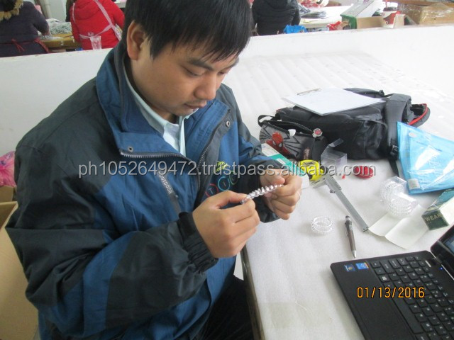 Hair Ties / Hair Clips / Hair Accessories Pre-Shipment Inspection in China