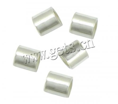 Sterling Silver Crimp beads 925 Sterling Silver Tube plated