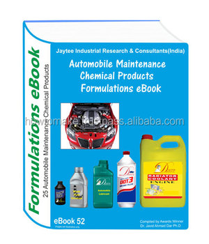 Automobile Maintenance Products Manufacturing 25 Formulations eBook eBook52