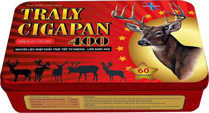 TRALY CIGAPAN 400 TL - Supplement necessary vitamins, minerals and nutrients for the body